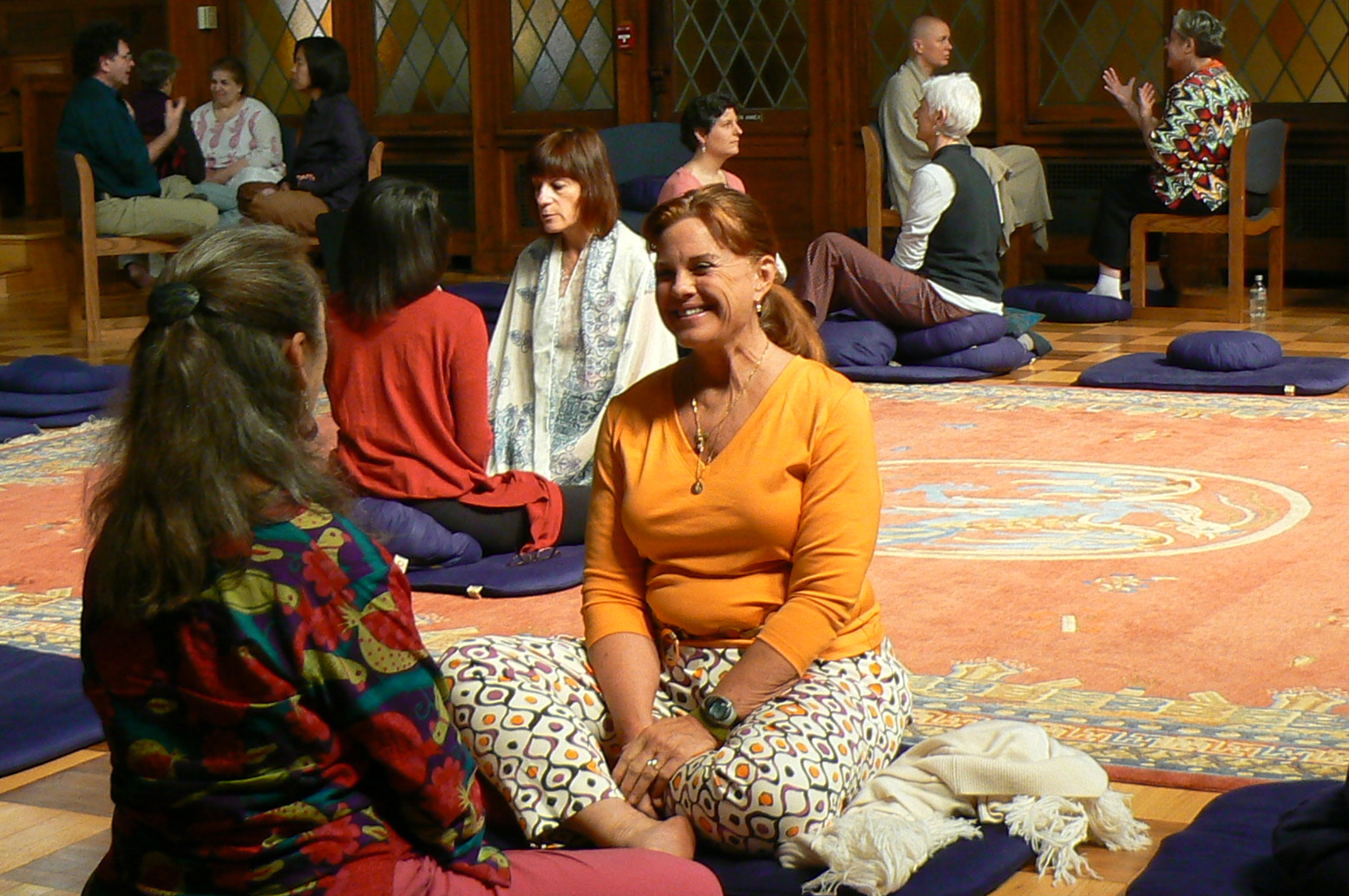 From Relational Meditation to a Community of Wisdom